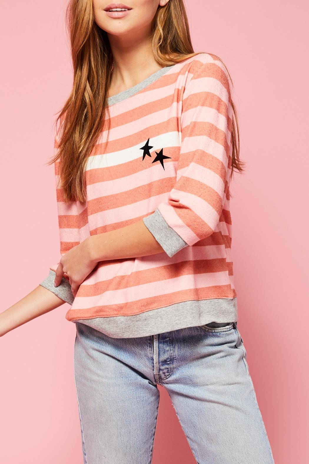 All Things Fabulous White Stripes Cozy - Main Image