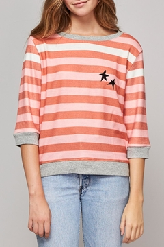 All Things Fabulous White Stripes Cozy - Product List Image