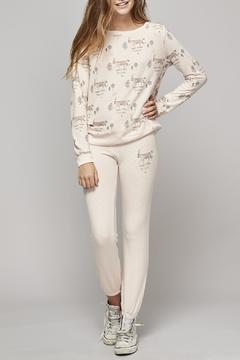 All Things Fabulous White Tiger Sweats - Product List Image