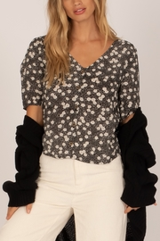 AMUSE SOCIETY Allegra Floral Top - Product Mini Image