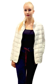 Allegri White Puffer Coat - Front cropped