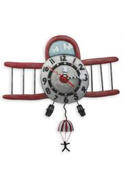 Allen Designs Studio Airplane Jumper Clock - Product Mini Image