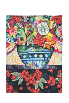 Allen Designs Studio Flowerblast Tea Towel - Product List Image