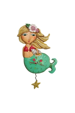 Allen Designs Studio Mermaid Clock - Alternate List Image