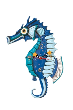 Allen Designs Studio Salty Seahorse Clock - Alternate List Image