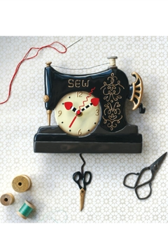 Allen Designs Studio Sewing Machine Clock - Alternate List Image