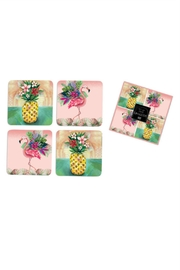 Allen Designs Studio Tropical Coaster Set - Product Mini Image