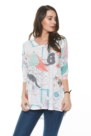 Inoah Alley Cats Tunic - Product Mini Image