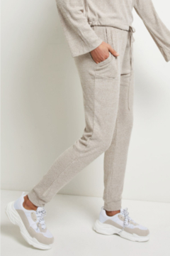 Allfenix ALLFenix Cozy Ribbed oatmeal Jogger - Alternate List Image