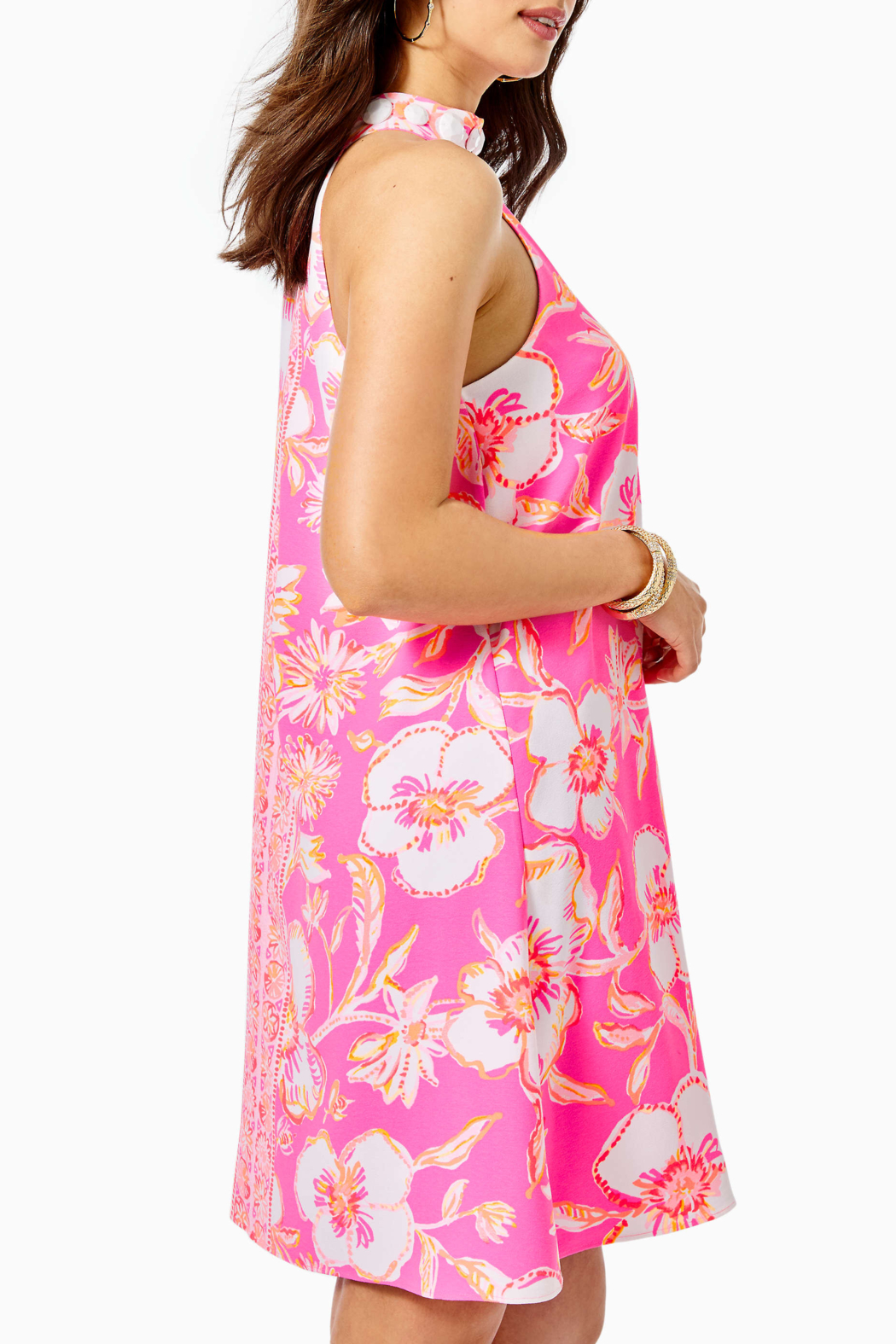 Lilly Pulitzer  Alli Woven Swing Dress - Front Full Image