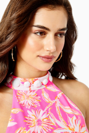 Lilly Pulitzer  Alli Woven Swing Dress - Back cropped