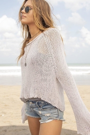 Wooden Ships Allie Cotton Crop-Top - Side cropped