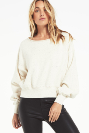 z supply Allie Speckled Sweatshirt - Product Mini Image