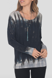 River + Sky  Allie Tie Dye Soft Spun Pullover - Product Mini Image
