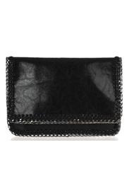 Allie & Chica Black Chain Clutch - Product Mini Image