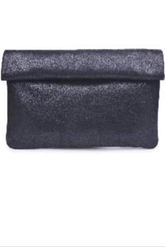 Shoptiques Product: Black Metallic Clutch