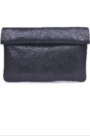 Allie & Chica Black Metallic Clutch - Product Mini Image
