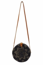 Allie & Chica Black Round Box Bag - Product Mini Image