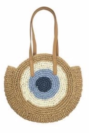 Allie & Chica Evil Eye Bag - Front cropped
