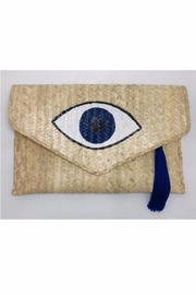 Allie & Chica Evil Eye Tassel Clutch - Product Mini Image
