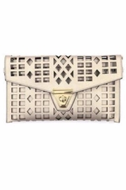 Allie & Chica Gold Cutout Clutch - Product Mini Image
