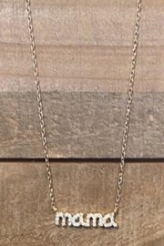 Allie & Chica Gold Mama Necklace - Product Mini Image