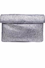Allie & Chica Pewter Metallic Clutch - Product Mini Image
