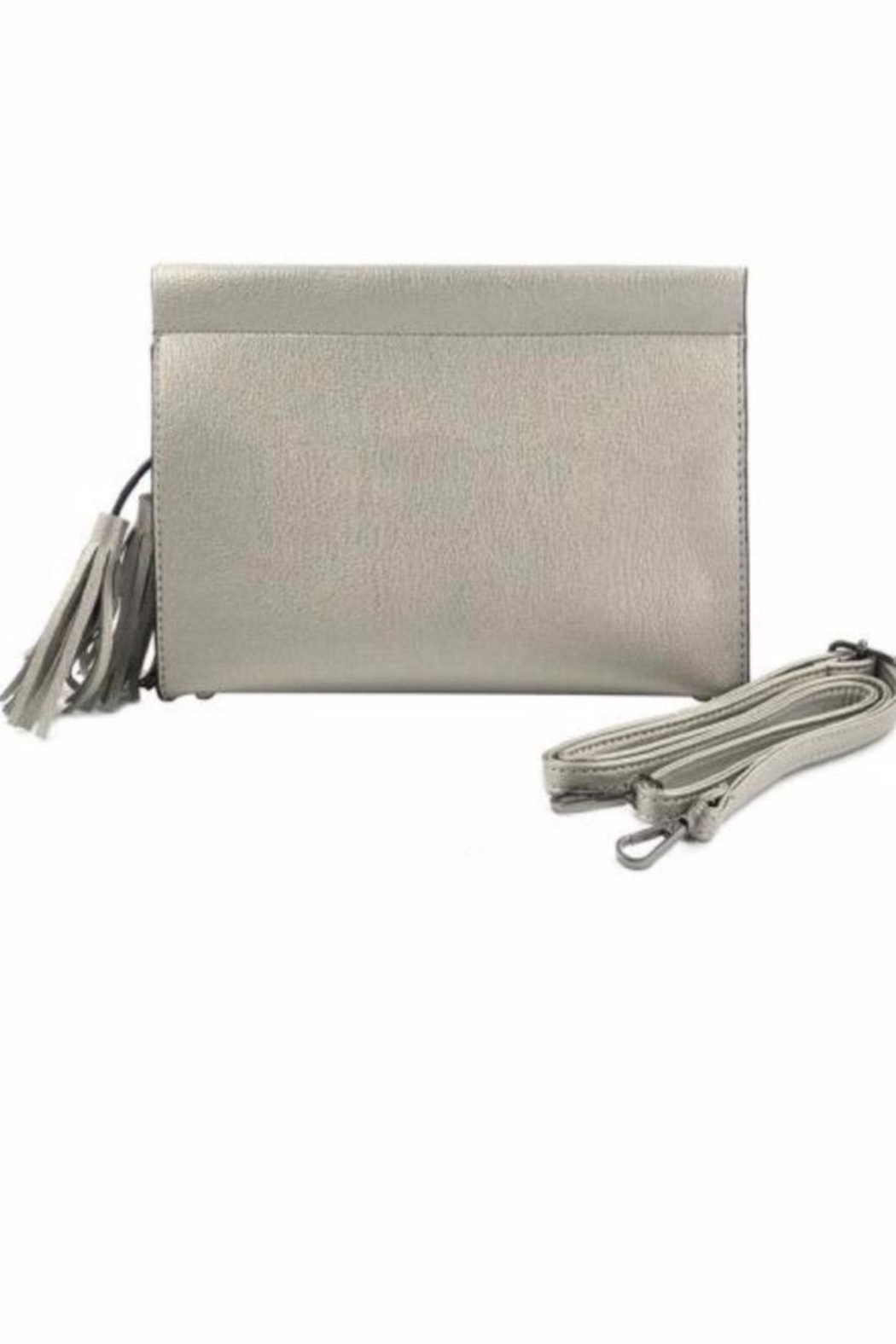 Allie & Chica Side Tassel Clutch - Main Image