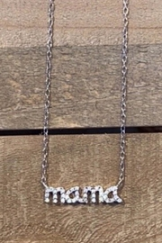 Allie & Chica Silver Mama Necklace - Product Mini Image