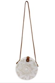 Allie & Chica White Round Bag - Product Mini Image