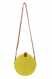 Allie & Chica Yellow Round Bag - Product Mini Image