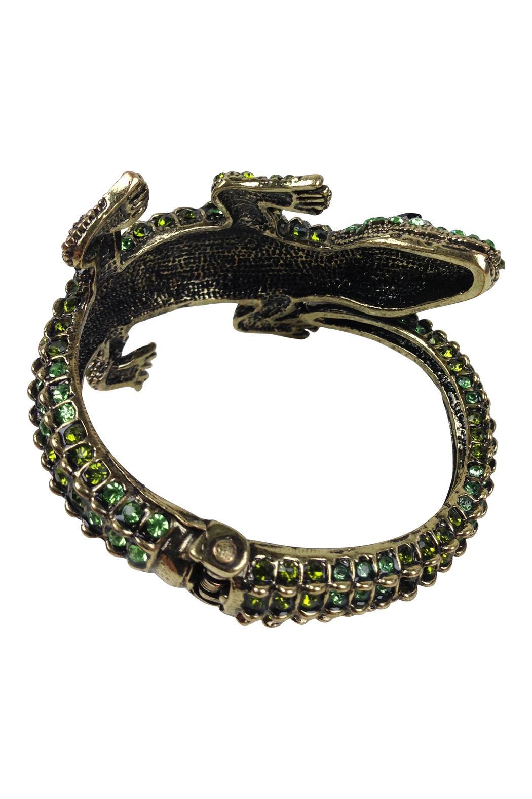 Alligator Cuff - Side Cropped Image