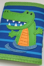 Stephen Joseph Alligator Kids Wallet - Front cropped