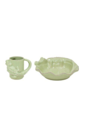 The Birds Nest ALLIGATOR PLATE AND MUG - Product Mini Image