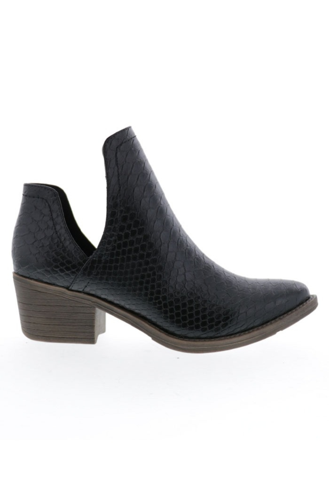 Very Volatile Alline Bootie - Front Cropped Image
