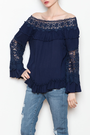 Allison Collection Lace OTS Top - Front full body