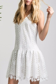 Allison Collection Tulip Lace Dress - Front cropped