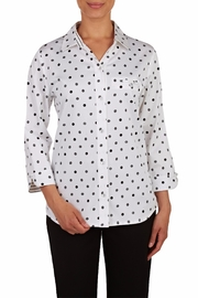 Allison Daley Dot Blouse - Product Mini Image