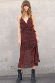 Timing Allister Ruffled Maxi Dress - Product Mini Image