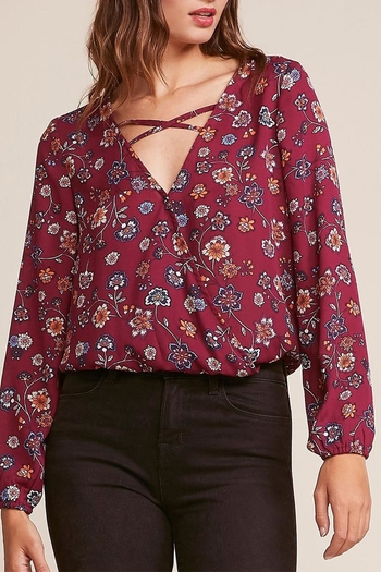 5a77b2663f8 Jack by BB Dakota Allora Floral Blouse from New York by Luna — Shoptiques