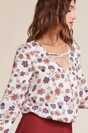 Jack by BB Dakota Allora Printed Top - Product Mini Image