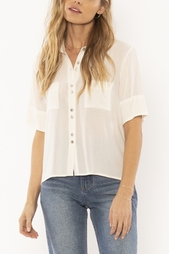 AMUSE SOCIETY Allora Woven Blouse - Product List Image