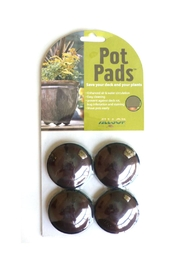Allsop Home & Garden Plant Pot Pad Sliders - Product Mini Image