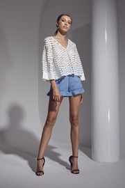 SHILLA THE LABEL Allure Mix Top - Front cropped