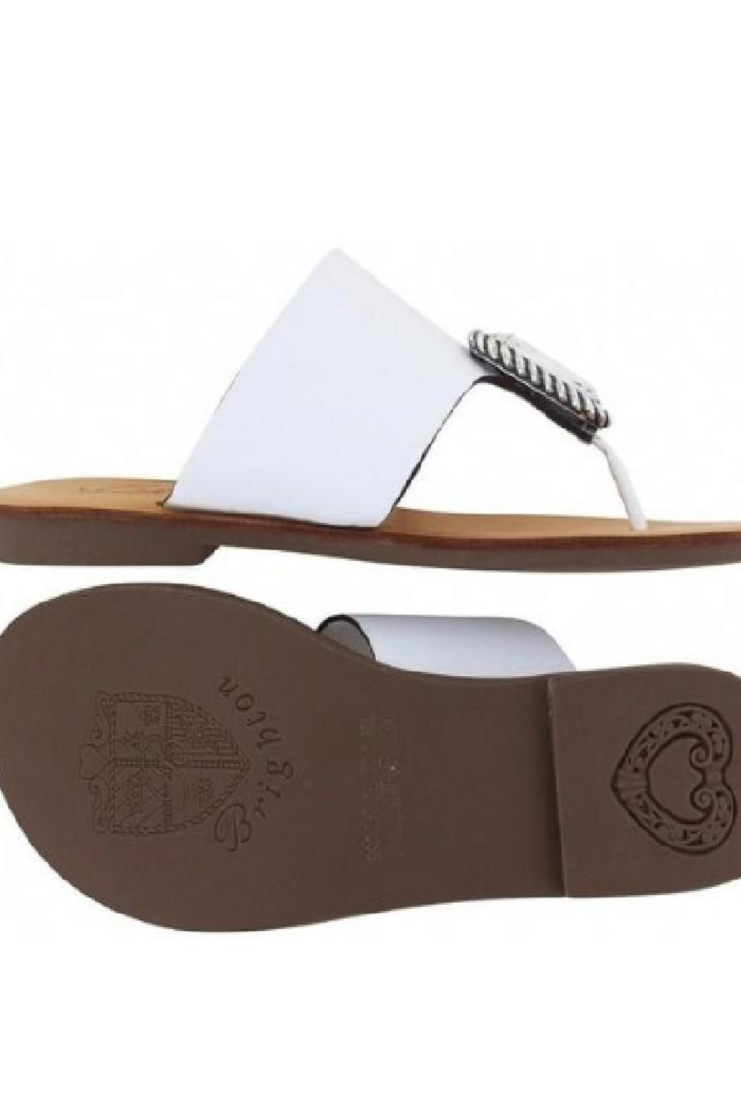 Brighton Allure Thong Sandals - Side Cropped Image