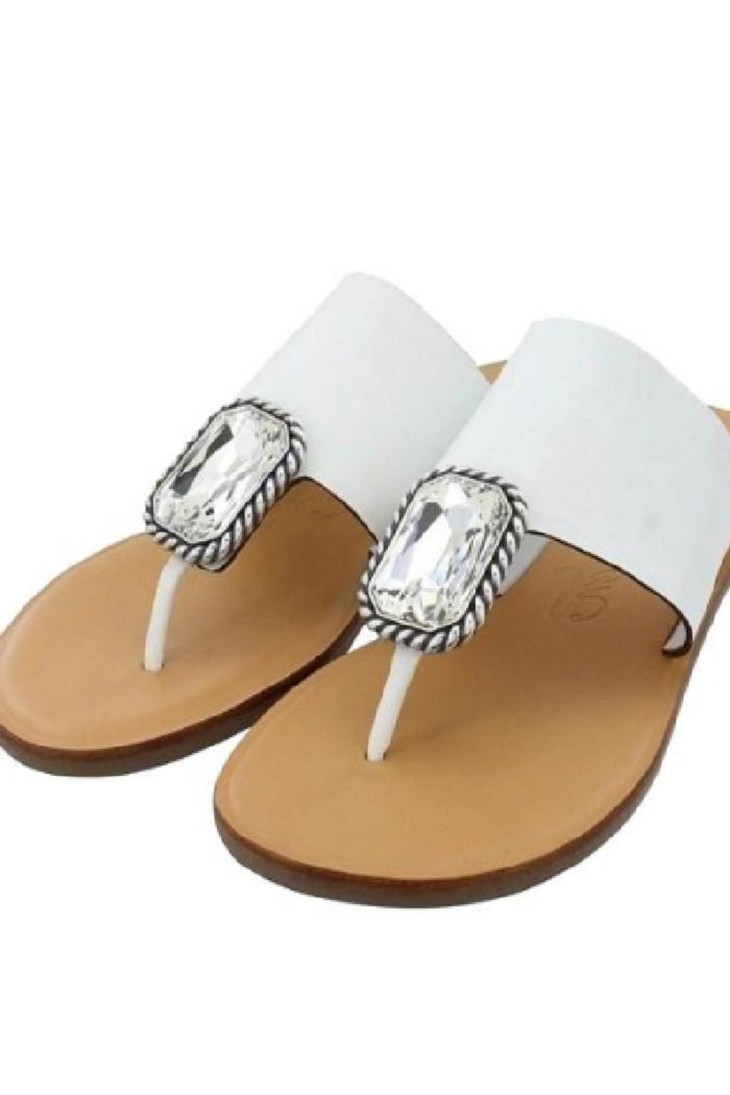 Brighton Allure Thong Sandals - Front Cropped Image