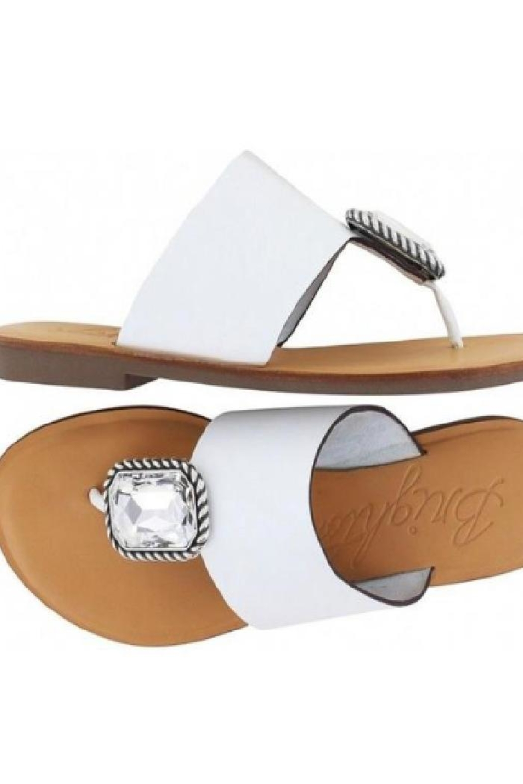Brighton Allure Thong Sandals - Front Full Image