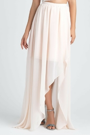 Allure Bridals Chiffon Hi-Low Skirt - Front cropped