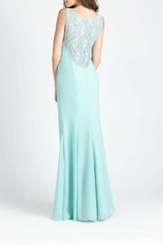 Allure Bridals Lace Back Bridesmaid Dress - Front full body