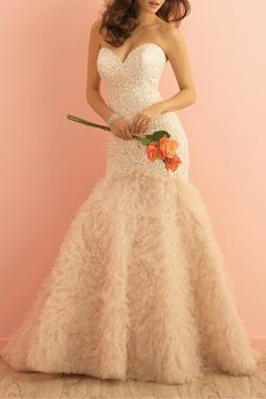 Allure Bridals Fit And Flare Gown - Product List Image